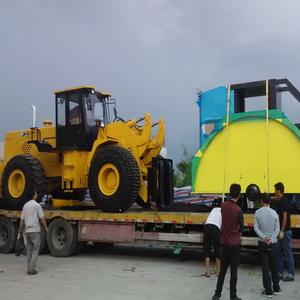 21吨叉装车发车到广东阳江阳西泰丰石场图片