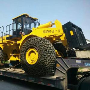 40吨betway必威ios叉装车发车湖南大理石采石场