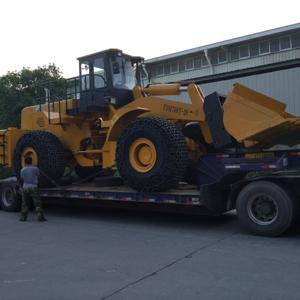 28吨betway必威ios叉装车发车甘肃酒泉大理石采石场